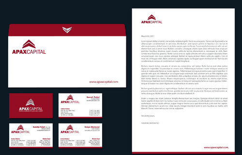 Need Business cards, letterhead and envelope