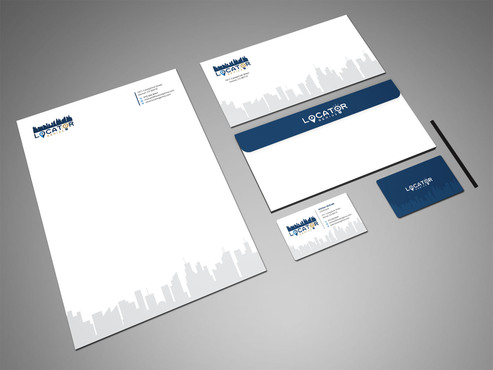 Locator Genius Business Cards and Stationery Winning Design by Xpert