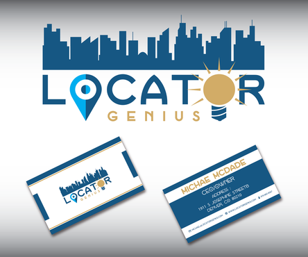 Locator Genius Business Cards and Stationery  Draft # 76 by darwansusilo