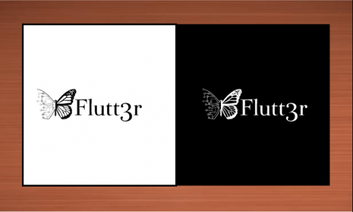 Flutt3r  A Logo, Monogram, or Icon  Draft # 40 by vector