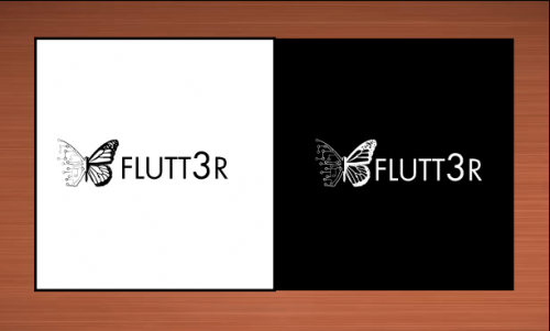 Flutt3r  A Logo, Monogram, or Icon  Draft # 41 by vector