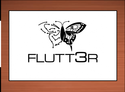 Flutt3r  A Logo, Monogram, or Icon  Draft # 42 by vector