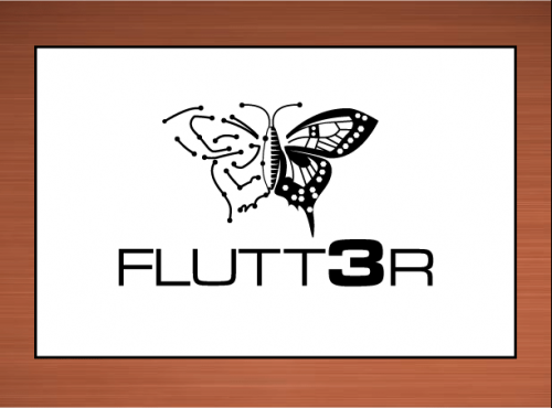 Flutt3r  A Logo, Monogram, or Icon  Draft # 43 by vector