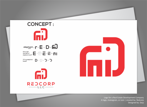 Redcorp LLC A Logo, Monogram, or Icon  Draft # 466 by ZeyyUniQ