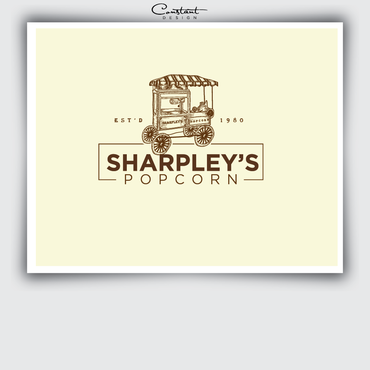Sharpley's Popcorn A Logo, Monogram, or Icon  Draft # 17 by constantDESIGNS