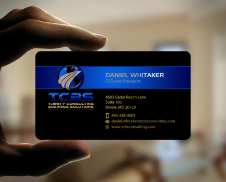 Trinity Solutions Business Consulting (TCBS) Business Cards and Stationery Winning Design by einsanimation