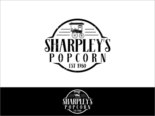 Sharpley's Popcorn A Logo, Monogram, or Icon  Draft # 29 by thebullet
