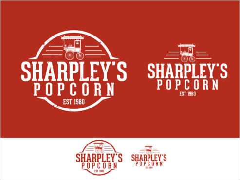 Sharpley's Popcorn A Logo, Monogram, or Icon  Draft # 30 by thebullet