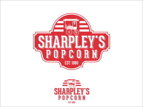 Sharpley's Popcorn A Logo, Monogram, or Icon  Draft # 31 by thebullet