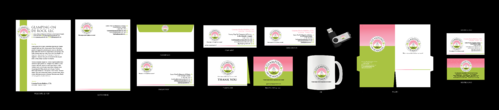 GLAMPING ON DE ROCK, LLC Business Cards and Stationery Winning Design by decentdesign