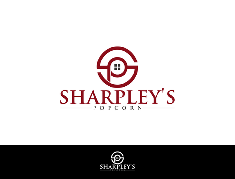 Sharpley's Popcorn A Logo, Monogram, or Icon  Draft # 32 by LOVEDESIGN