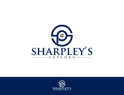 Sharpley's Popcorn A Logo, Monogram, or Icon  Draft # 34 by LOVEDESIGN