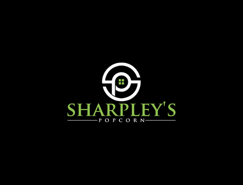 Sharpley's Popcorn A Logo, Monogram, or Icon  Draft # 35 by LOVEDESIGN