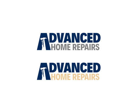 Advanced Home Repairs A Logo, Monogram, or Icon  Draft # 21 by odc69