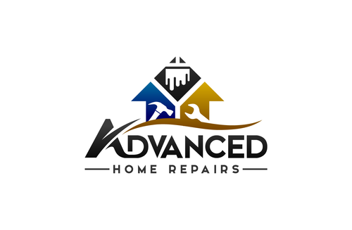 Advanced Home Repairs Logo Winning Design by Samdesigns