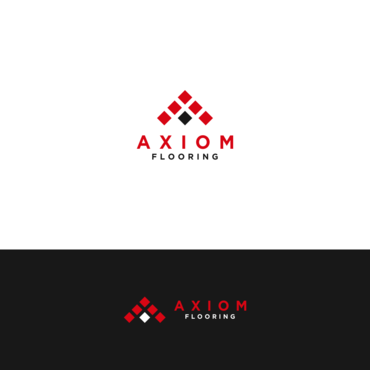 Axiom Flooring A Logo, Monogram, or Icon  Draft # 538 by FlosonArt