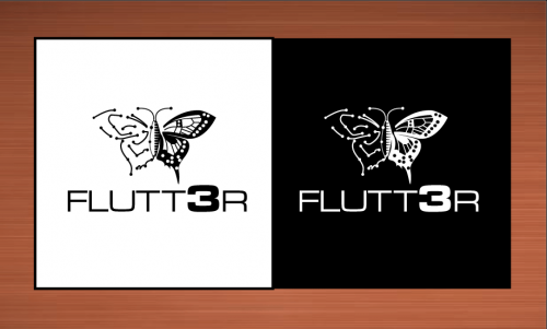 Flutt3r  A Logo, Monogram, or Icon  Draft # 48 by vector