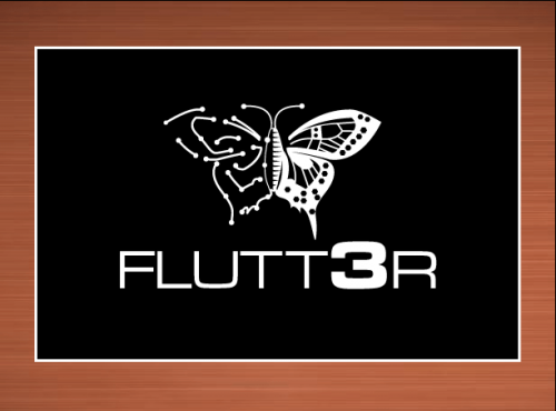 Flutt3r  A Logo, Monogram, or Icon  Draft # 52 by vector
