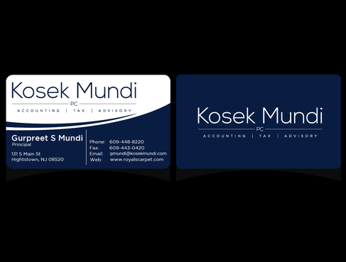 KOSEK MUNDI PC Business Cards and Stationery  Draft # 2 by PinoySenpai