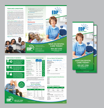 EDP Dental Plan Marketing collateral  Draft # 17 by Achiver