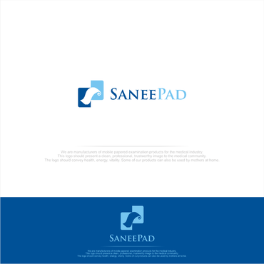SaneePad A Logo, Monogram, or Icon  Draft # 103 by FUSIONdesign