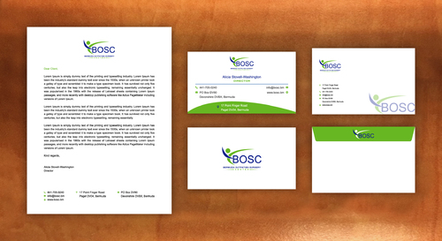 BOSC Bermuda Outpatient Surgery Center Business Cards and Stationery  Draft # 140 by habibm