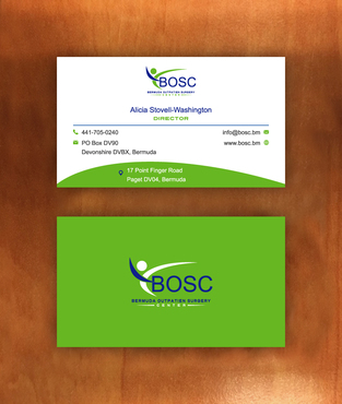 BOSC Bermuda Outpatient Surgery Center Business Cards and Stationery  Draft # 141 by habibm