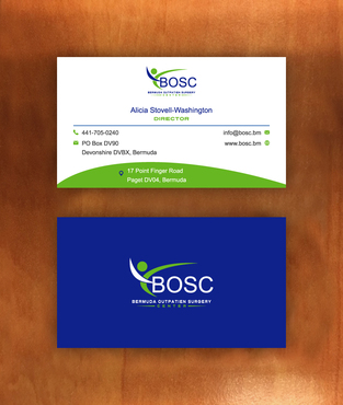 BOSC Bermuda Outpatient Surgery Center Business Cards and Stationery  Draft # 142 by habibm
