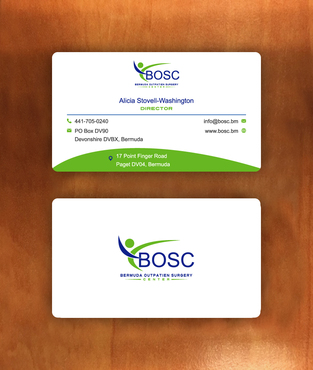 BOSC Bermuda Outpatient Surgery Center Business Cards and Stationery  Draft # 144 by habibm