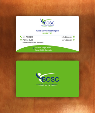 BOSC Bermuda Outpatient Surgery Center Business Cards and Stationery  Draft # 145 by habibm