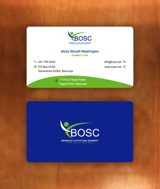 BOSC Bermuda Outpatient Surgery Center Business Cards and Stationery  Draft # 146 by habibm