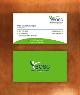 BOSC Bermuda Outpatient Surgery Center Business Cards and Stationery  Draft # 148 by habibm