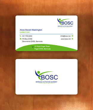 BOSC Bermuda Outpatient Surgery Center Business Cards and Stationery  Draft # 150 by habibm