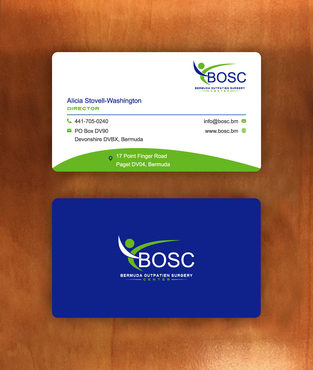 BOSC Bermuda Outpatient Surgery Center Business Cards and Stationery  Draft # 152 by habibm