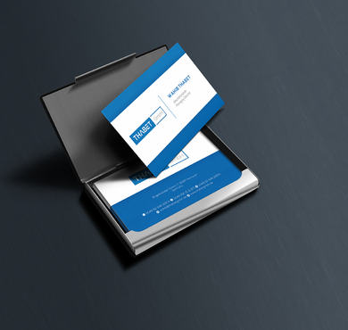 Thabet GmbH  Business Cards and Stationery  Draft # 141 by Thegrad