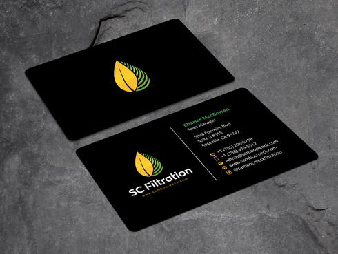 Quality Filtration Systems - Dewaxing Specialists Business Cards and Stationery  Draft # 1 by Xpert