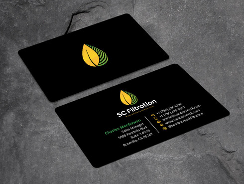 Quality Filtration Systems - Dewaxing Specialists Business Cards and Stationery  Draft # 2 by Xpert