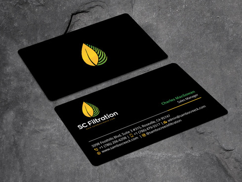 Quality Filtration Systems - Dewaxing Specialists Business Cards and Stationery  Draft # 6 by Xpert