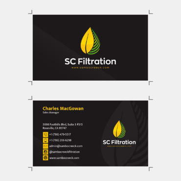 Quality Filtration Systems - Dewaxing Specialists Business Cards and Stationery  Draft # 12 by mynameisrul