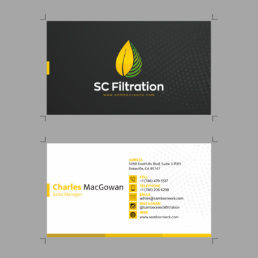 Quality Filtration Systems - Dewaxing Specialists Business Cards and Stationery  Draft # 14 by mynameisrul