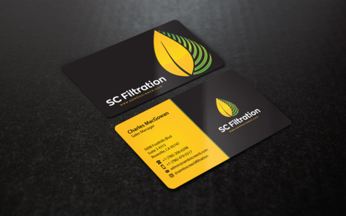 Quality Filtration Systems - Dewaxing Specialists Business Cards and Stationery Winning Design by einsanimation