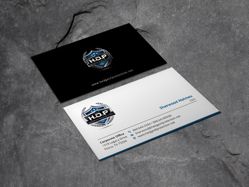 World Class Weapons Training & Security Company Since 1981 Business Cards and Stationery  Draft # 11 by Xpert