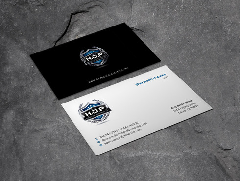World Class Weapons Training & Security Company Since 1981 Business Cards and Stationery  Draft # 13 by Xpert