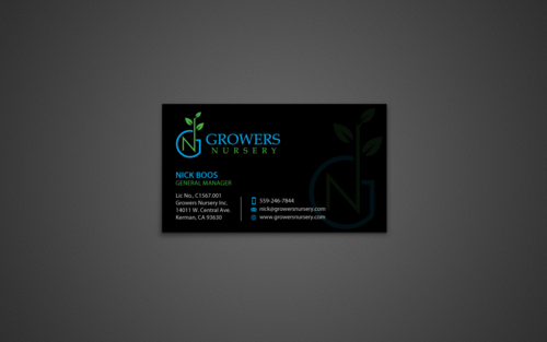 Card and Stationary for Growers Nursery Inc