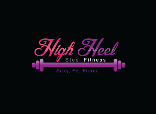 High Heel Steel Fitness A Logo, Monogram, or Icon  Draft # 7 by zameen