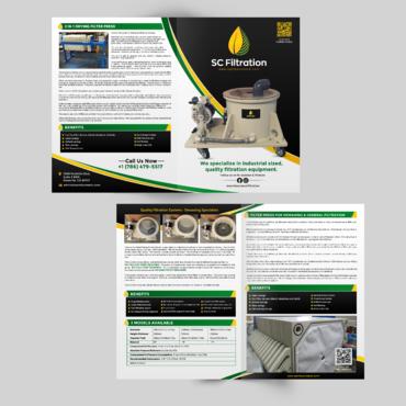 Design by einsanimation For SC Filtration Flyer