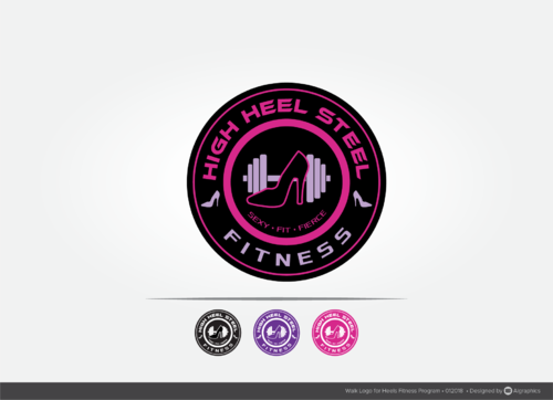 High Heel Steel Fitness A Logo, Monogram, or Icon  Draft # 47 by ALgraphics