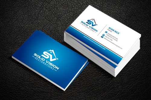 Solid Vision Restorations  Business Cards and Stationery  Draft # 115 by Vincent1986