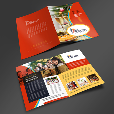 Le Toucan Traiteur Marketing collateral  Draft # 2 by ARTCO