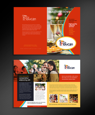 Le Toucan Traiteur Marketing collateral  Draft # 3 by ARTCO